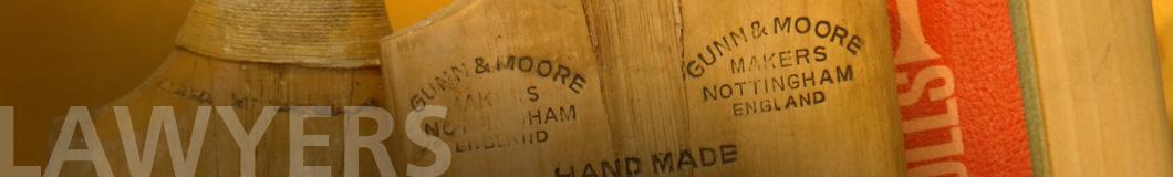 Surry Partners Lawyers antique cricket bat